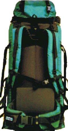 dvoukomorový batoh pro vysokohorskou i běžnou turistiku ~ objem 100 litrů ~ hmotnost  2 kg ~ nosnost 39 kg ~ plnění shora i zespodu 3f297e1a7a
